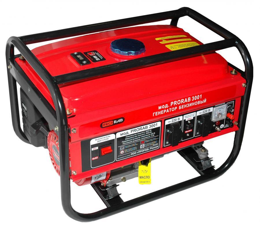 Генератор бензиновый prorab 5502 генератор